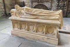 Comtes de tombe du Lothian à l'abbaye de Jedburgh en frontières écossaises photos libres de droits