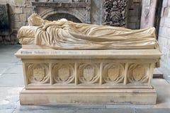 Comtes de tombe du Lothian à l'abbaye de Jedburgh en frontières écossaises photographie stock libre de droits