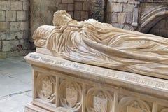 Comtes de tombe du Lothian à l'abbaye de Jedburgh en frontières écossaises photo stock