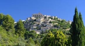 Comuna de Gordes em Provence imagem de stock
