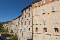 Comunanza (Marches, Italy) - Old houses Stock Image