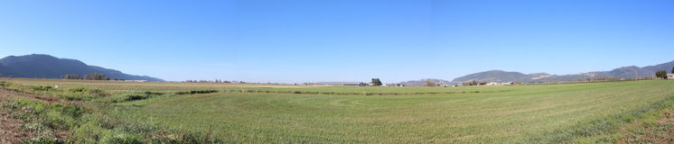 Comune agricola della valle di Fraser Immagine Stock Libera da Diritti