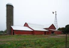 Comune agricola di Amish Fotografie Stock