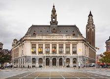 Comune di Charleroi Vallonia belgium immagine stock libera da diritti