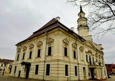 Comune di Kaunas, Lituania Fotografie Stock