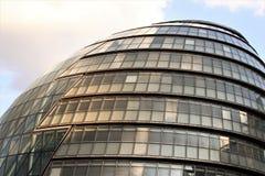 Comune di Londra - punto di riferimento BRITANNICO moderno di architettura Fotografia Stock