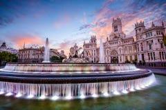 Comune di Madrid immagine stock