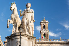Comune di Roma town hall Royalty Free Stock Photos