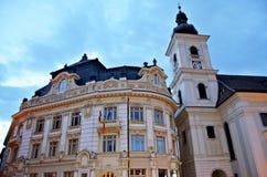 Comune di Sibiu Fotografie Stock Libere da Diritti