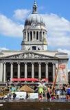 Comune e stagno, Nottingham fotografia stock libera da diritti