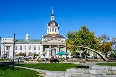 Comune fontana dell'arco di confederazione e di Kingston, Fotografie Stock Libere da Diritti