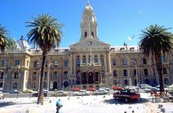 Comune nell'architettura vittoriana di stile del capo a Cape Town Fotografie Stock Libere da Diritti