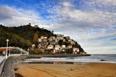Comune, San Sebastian, Spagna fotografie stock libere da diritti