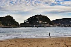 Comune, San Sebastian, Spagna fotografie stock