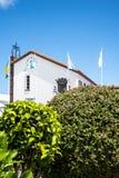 Comune in Santana in Madera che è un bello villaggio sulla costa del nord Fotografia Stock