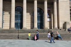 Comune, Sheffield fotografia stock libera da diritti