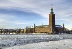 Comune, Stoccolma HDR Fotografia Stock Libera da Diritti