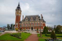 Comune storico di Calais, Francia Immagine Stock
