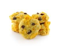Comunicação das cookies com backgrourd branco Imagem de Stock