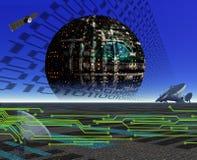 COMUNICAÇÃO EM UM MUNDO DE DIGITAL Imagens de Stock
