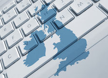 Comunicações britânicas Imagens de Stock