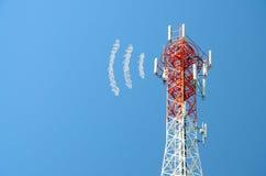 Comunicações da antena Fotos de Stock