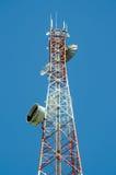 Comunicações da antena Fotografia de Stock