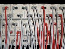 Comunicações da rede Fotografia de Stock