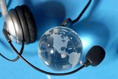 Comunicações de Blobal Fotografia de Stock