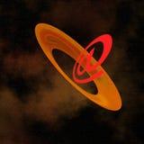 Comunicações de espaço Fotos de Stock