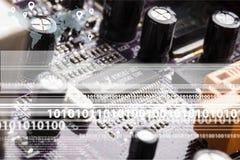 Comunicações do Internet Foto de Stock