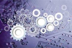 Comunicações do Internet Imagem de Stock