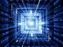 Comunicações do processador central Fotografia de Stock