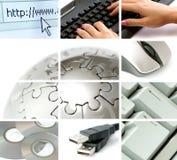 Comunicações e tecnologia Imagens de Stock Royalty Free