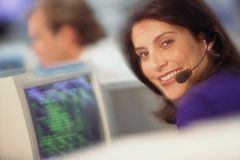 Comunicações empresariais Imagem de Stock Royalty Free