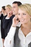 Comunicações empresariais Fotografia de Stock