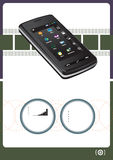 Comunicações móvéis Imagens de Stock Royalty Free