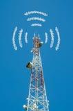 comunicações Multi-direcionais da antena Imagens de Stock
