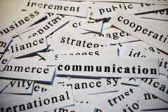 Comunicación Foto de archivo libre de regalías