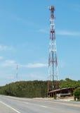 Comunicación de Antena Imagen de archivo