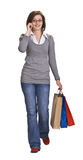 Comunicación de las compras Imagenes de archivo