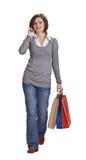 Comunicación de las compras Foto de archivo libre de regalías