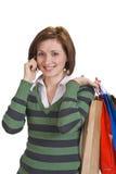 Comunicación de las compras Fotos de archivo