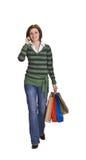 Comunicación de las compras Imagen de archivo