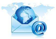 comunicación del email stock de ilustración