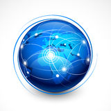 Comunicación del Internet del concepto