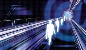 Comunicación empresarial 1 Imagen de archivo libre de regalías
