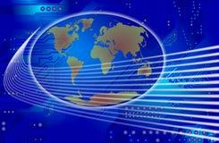 Comunicación global ilustración del vector
