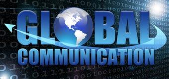 Comunicación global Foto de archivo libre de regalías