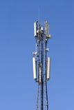 Comunicación móvil de la antena. Fotografía de archivo libre de regalías